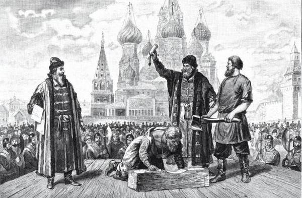 Какие люди на Руси становились палачами?