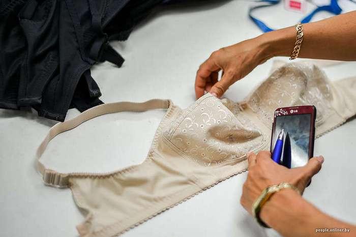 Как шьют женское белье