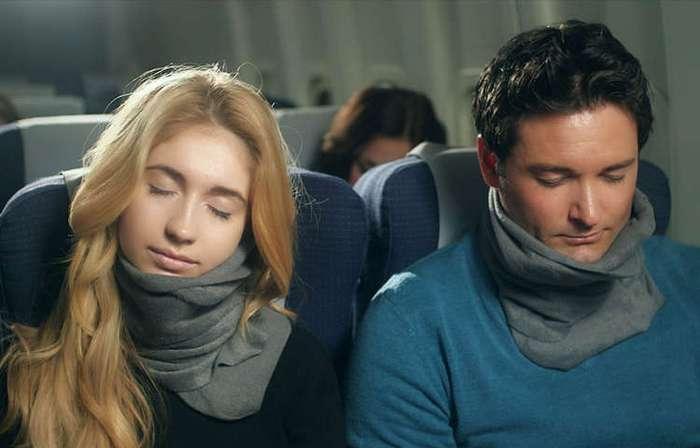 Trtl: революция в подушках для сна в самолётах!