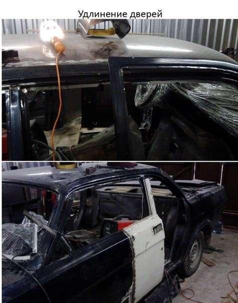 Как сделать Dodge Charger из Волги 3102