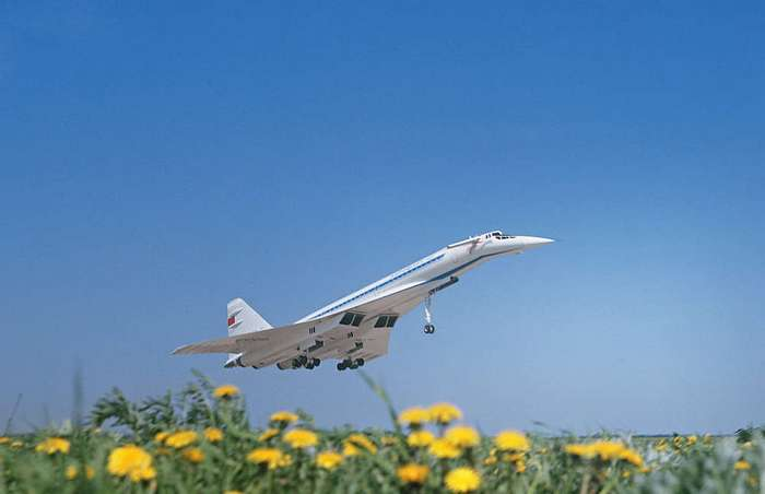 Ту-144. Прерванный полет