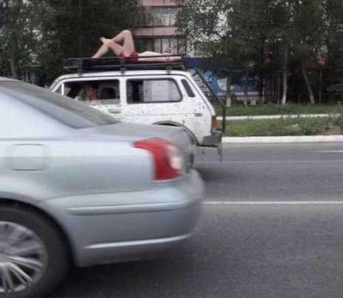 И вновь коллекция фотографий из российской действительности