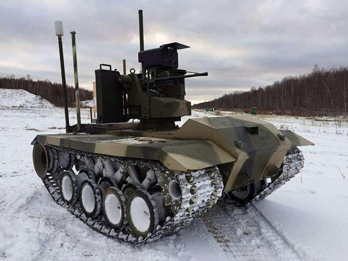 У российской армии уже есть собственный беспилотный -танк-камикадзе-