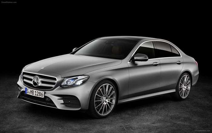 Mercedes-Benz E-Class 2017 – новый уровень оснащения
