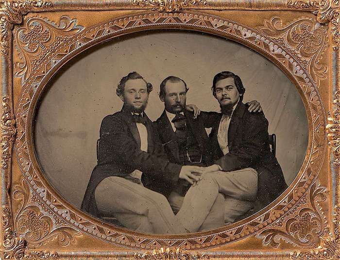 Мужчины викторианской эпохи
