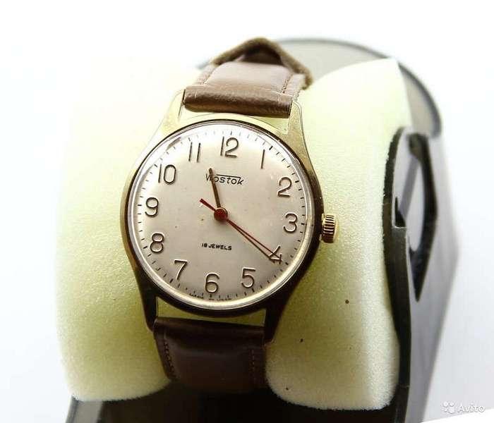 Наручные часы Советского Союза