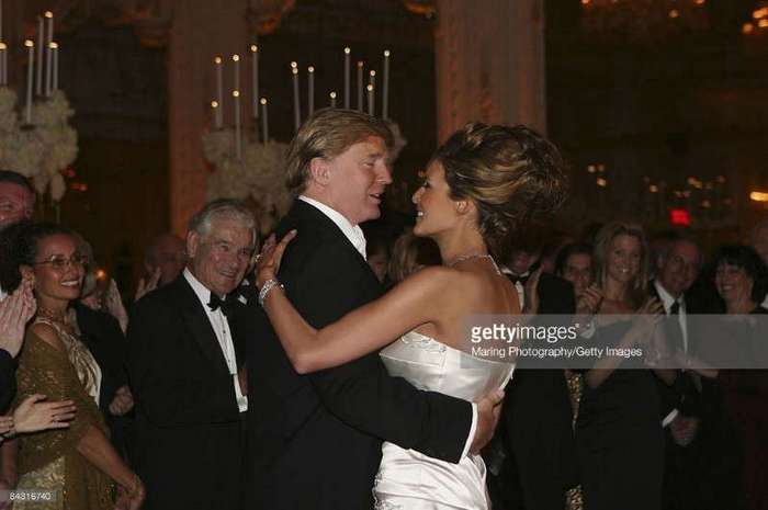 Свадьба Дональда и Мелании Трамп
