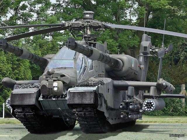 Футуристичные концепты боевой техники