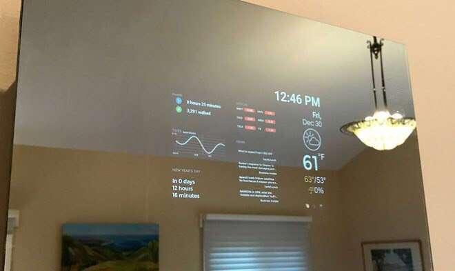 Firefly – первое в мире умное зеркало-планшет