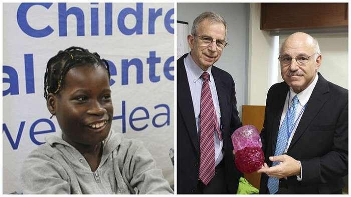 Врачи сумели удалить гигантскую опухоль из челюсти 12-летней девочки