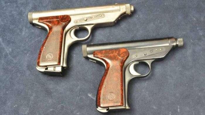 Пистолет Леркера и Куппини, запрещенный из-за своей эффективности
