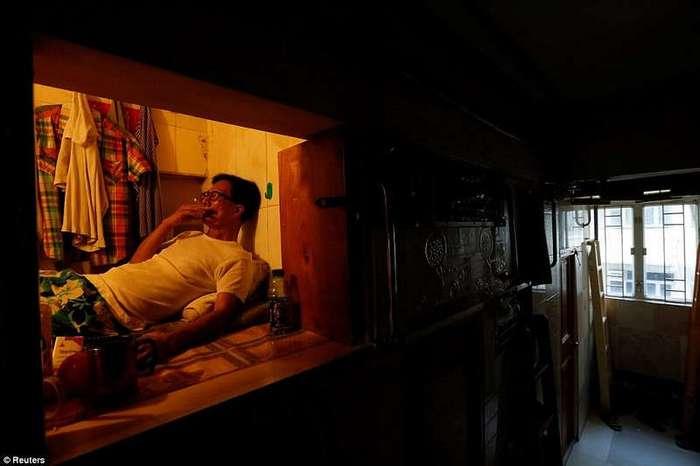 Крохотные жилища в крупных городах Азии