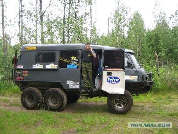 Что можно сделать из УАЗа