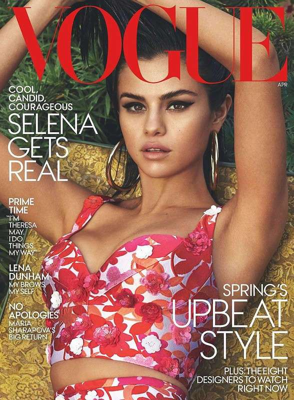 Селена Гомес для Vogue US April 2017