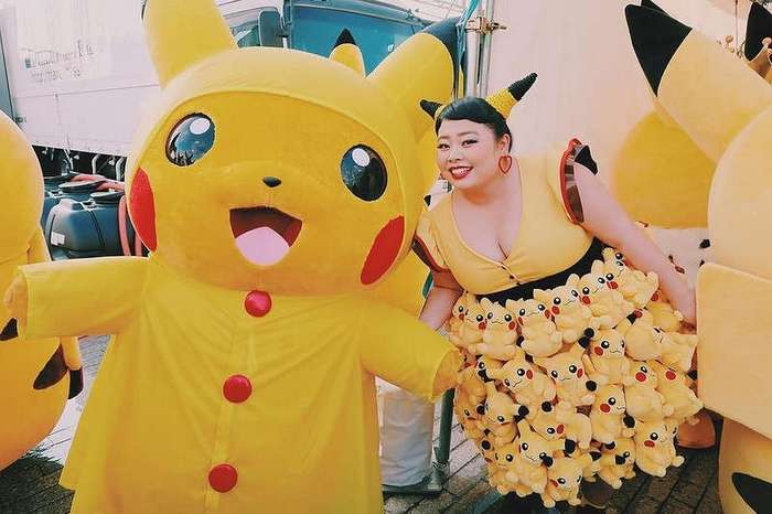 В Японии есть своя пышная Бейонсе, и она вам точно понравится!