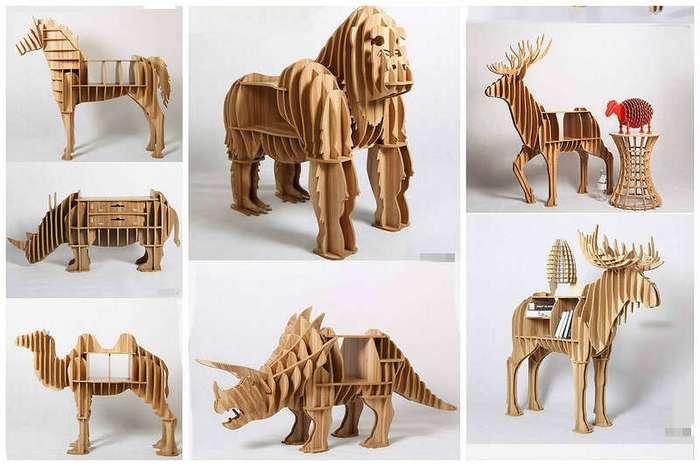 Забавные дизайнерские идеи для тех, кто любит животных