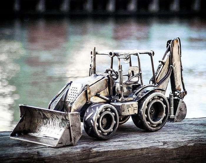 Миниатюры авто из металла!