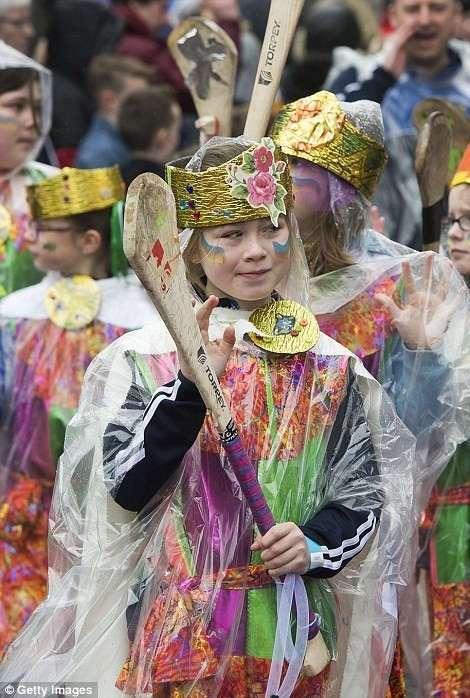В мире отметили День Святого Патрика-2017 и, как водится, немного перестарались