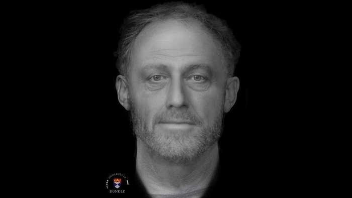 Фотография человека, умершего 700 лет назад