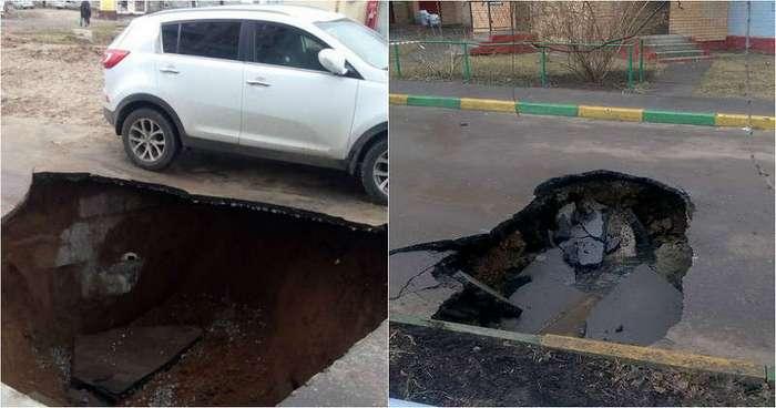 Опасность под ногами: а в вашем городе уже разверзлась канализационная пучина?