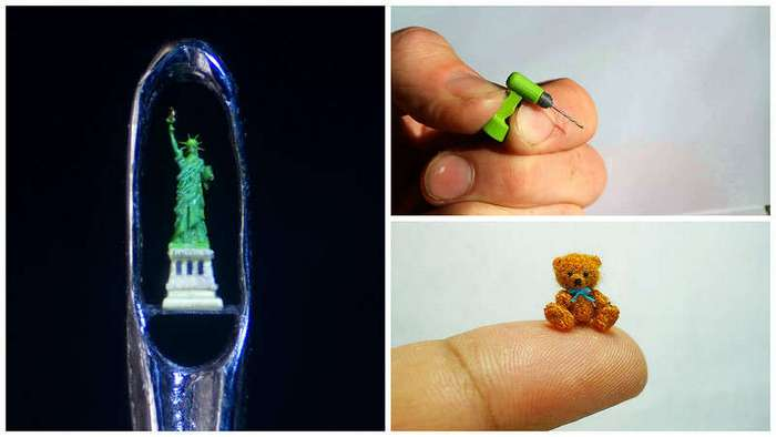 Самые миниатюрные вещи в мире