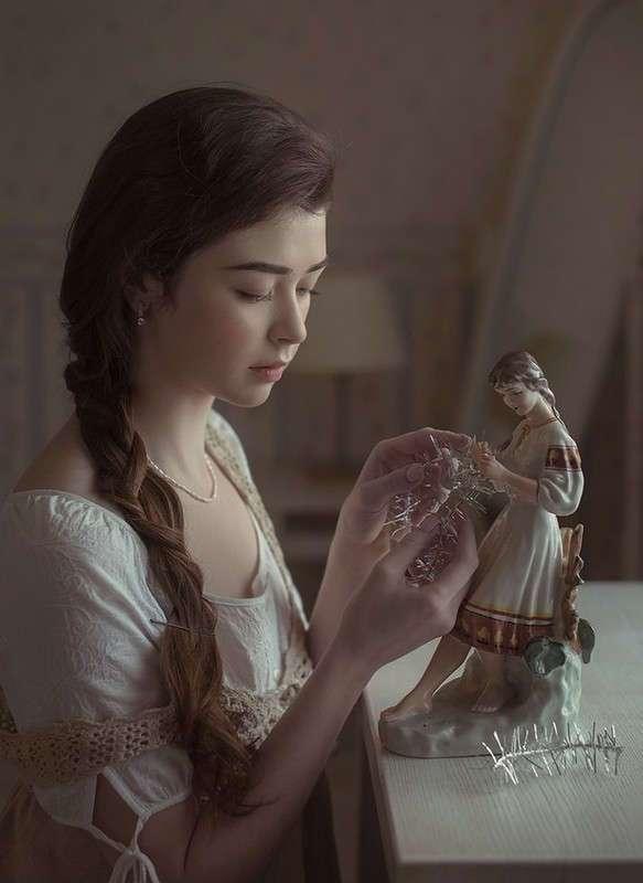 Женская красота и очарование в портретах Давида Дубницкого