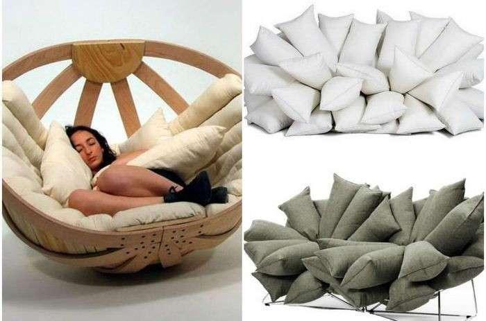 Максимальное расслабление: мебель, которая сделает отдых комфортным