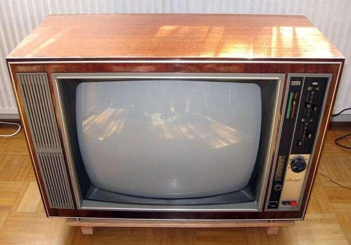 Год 1974. Так вот ты какой, цветной телевизор!