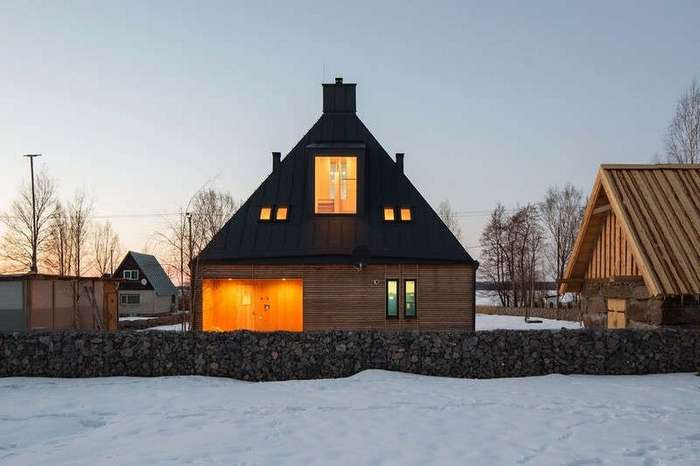 Загородный дом в Ленинградской области