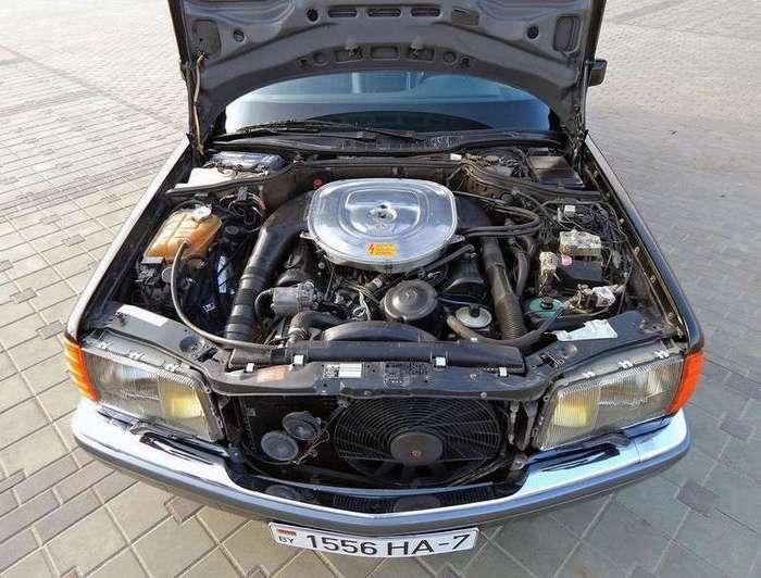 Mercedes-Benz W126 - Прикосновение к прекрасному