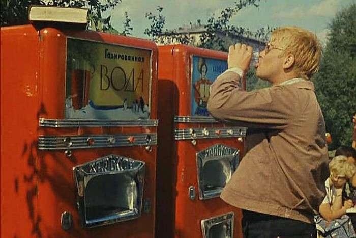 Советская газировка и напитки нашего детства