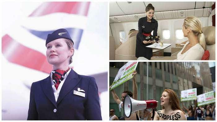 Требования к стюардессам в разных стран мира, и их результаты
