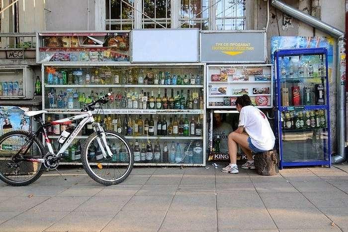 Подвальные магазины Софии