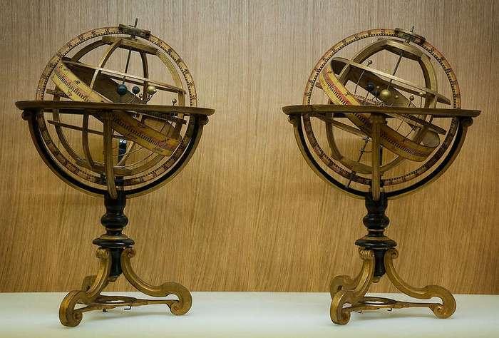 8 астрономических приборов прошлого, которые являются настоящими произведениями искусства