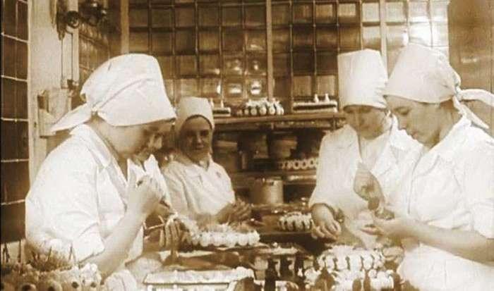 Советские пироженки