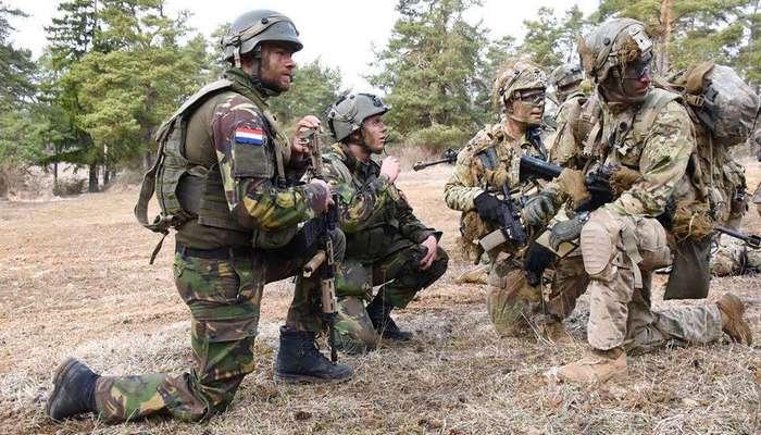 НАТО хочет тренироваться на русских