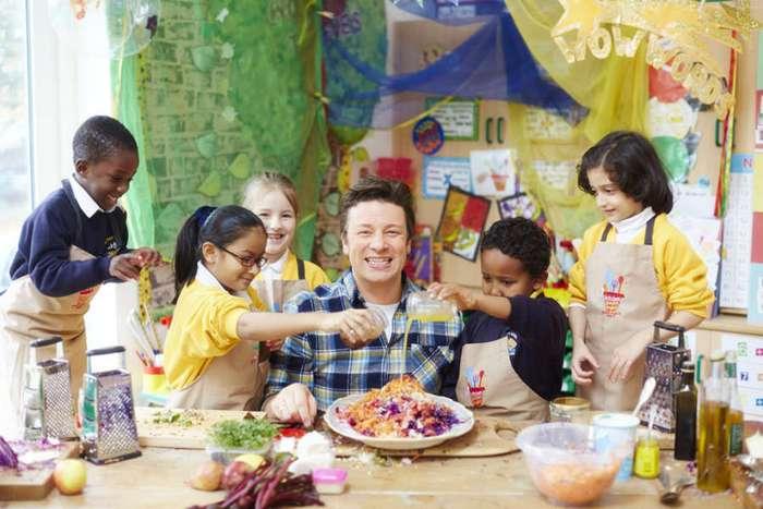 Джейми Оливер – борец за здоровую еду для школьников