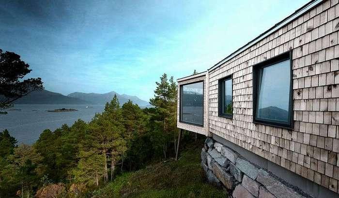 Реконструкция дома с пристройкой в Норвегии