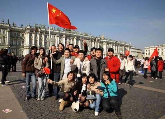 Перлы китайских гидов о России