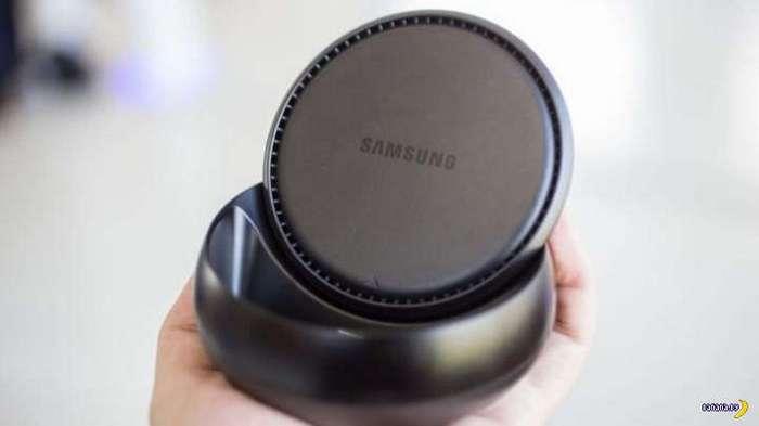 Черная шайба от Samsung