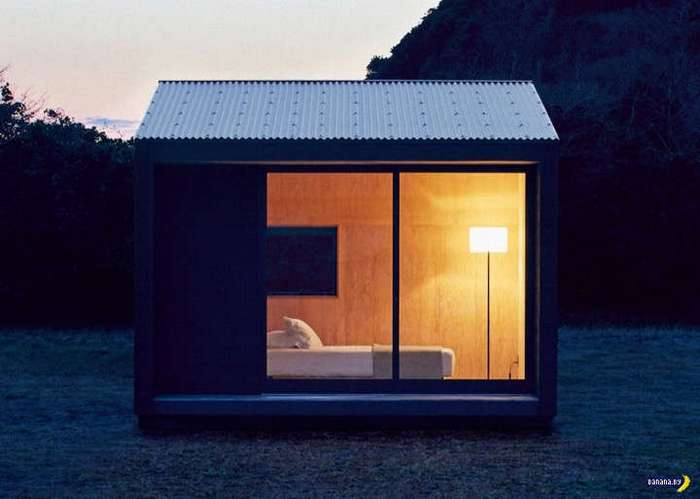 Зачем дом, если есть домик?