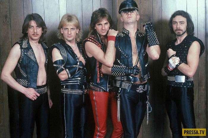 Сценические образы рок-звезд 80-х (11 фото)