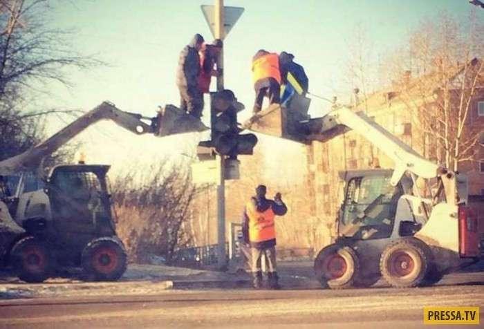 Автоприколы с Российских дорог (47 фото)