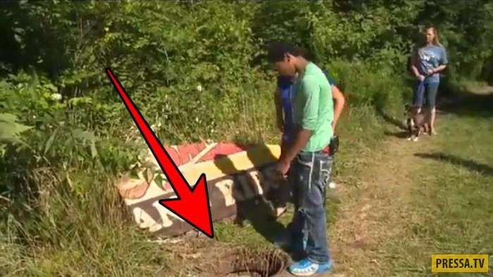 Подростки открыли канализационный люк и были шокированы увиденным (7 фото)