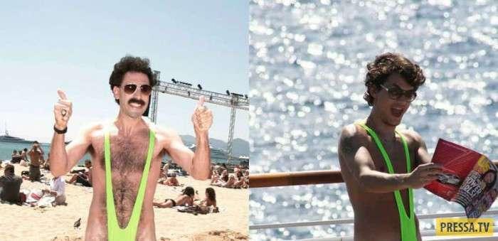 Самые неудачные наряды звезд на пляже (16 фото)