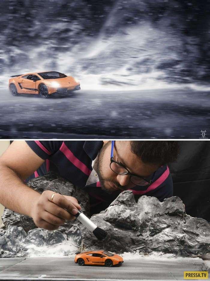 Реалистичные работы из подручных средств от индийского фотографа (25 фото)