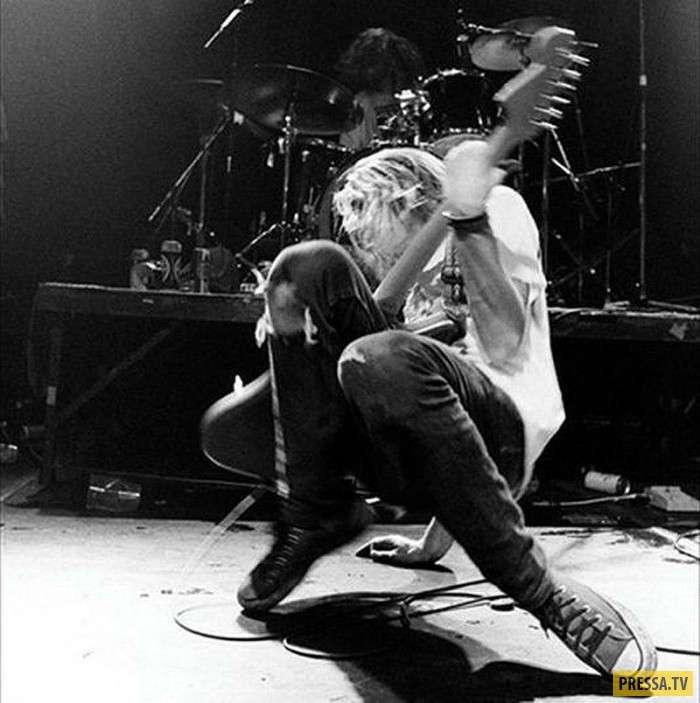 5 апреля исполняется 23 года со дня смерти Курта Кобейна (12 фото)