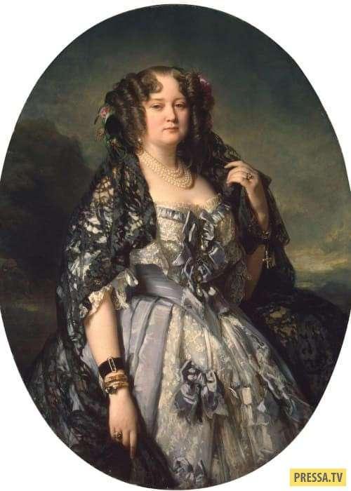 Княжна Софья Урусова - красавица, покорившая Николая I и Александра Пушкина (9 фото)