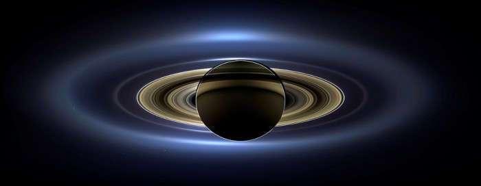 Загадочная планета Сатурн (16 фото)