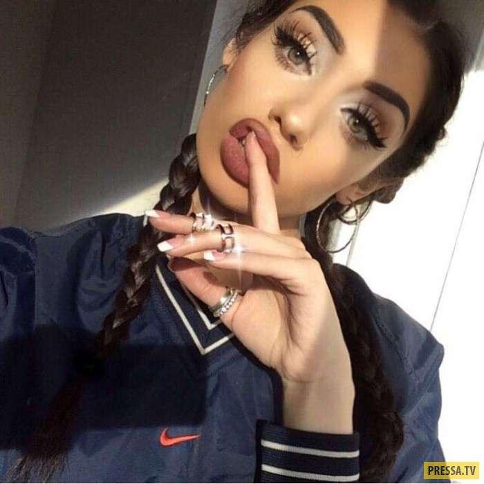 Новый модный тренд Инстаграма - кукольное личико (20 фото)
